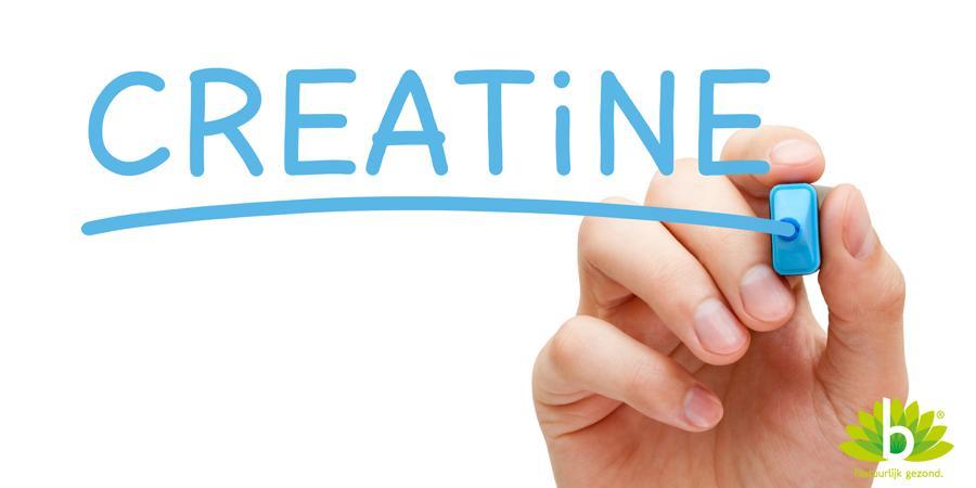 Creatine als energiebron voor korte en hevige inspanning