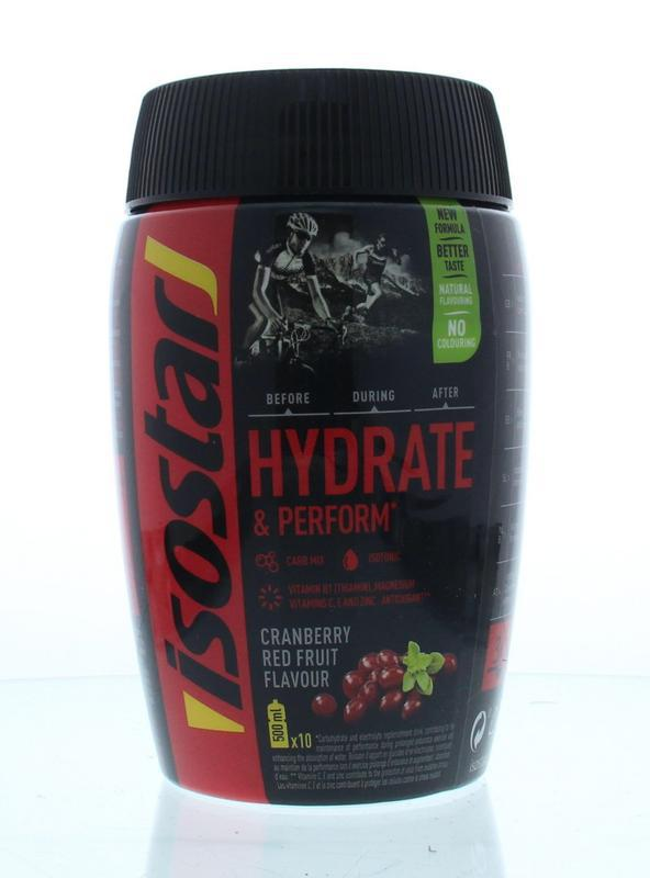 Hydrate & perform cranberry red fruit