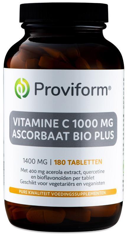 Vitamine C1000 ascorbaat bio plus
