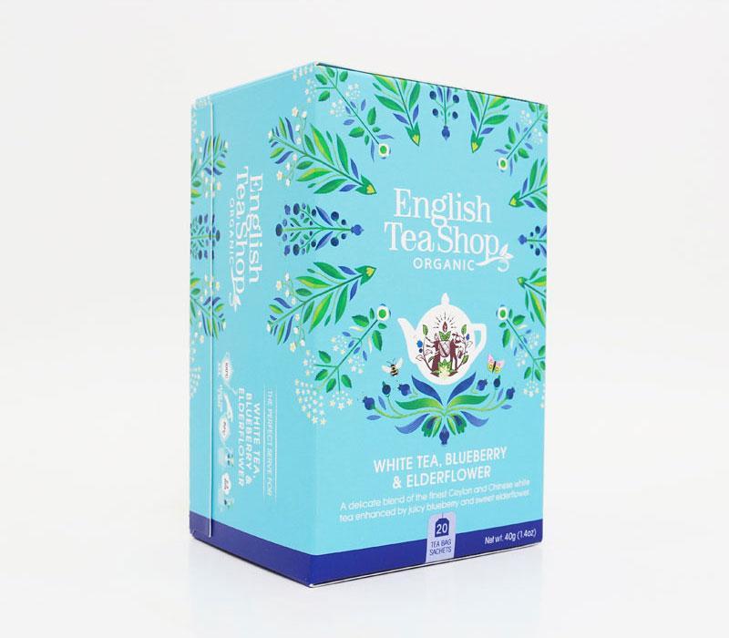 White tea blueberry & elderflower
