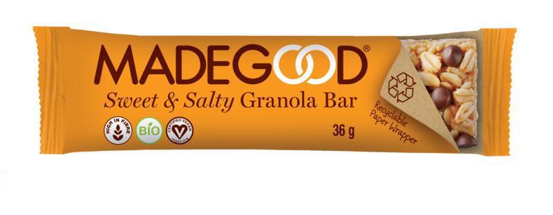 Granola bar sweet & salty bio