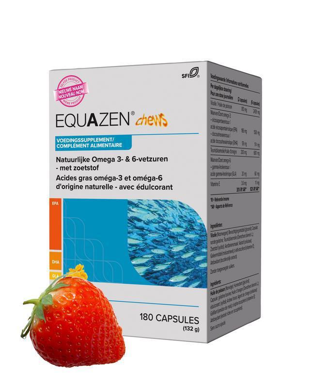Eye q chews omega 3- & 6-vetzuren