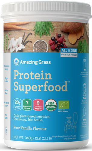 Protein superfood pure vanille bio