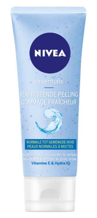 Essentials rice scrub normale huid