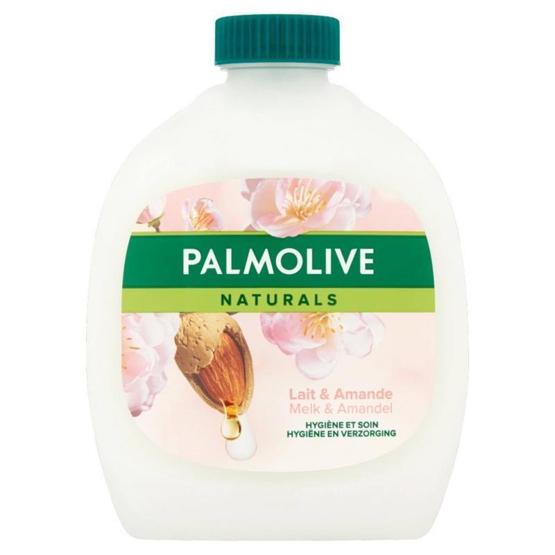Vloeibare zeep melk & amandel navulling