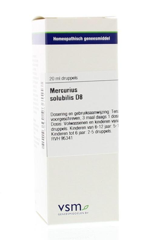 Mercurius Solubilis D8