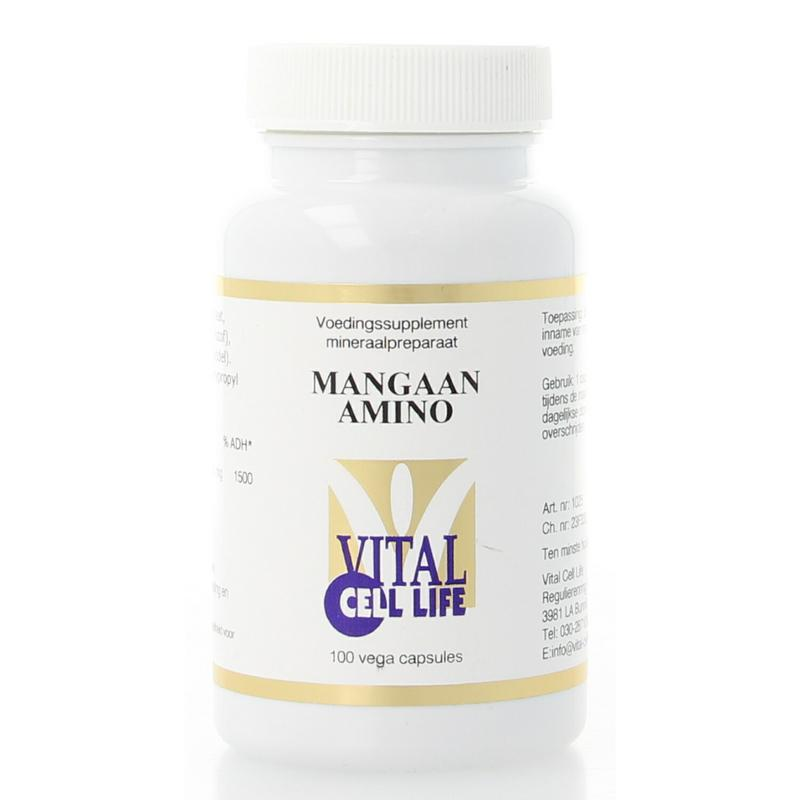 Mangaan amino 30 mg
