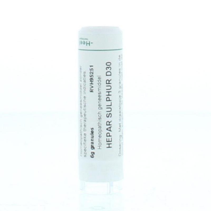 Hepar sulphur D30