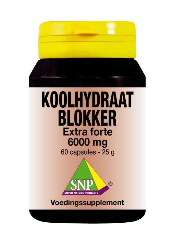 Koolhydraat blokker extra forte 6000 mg