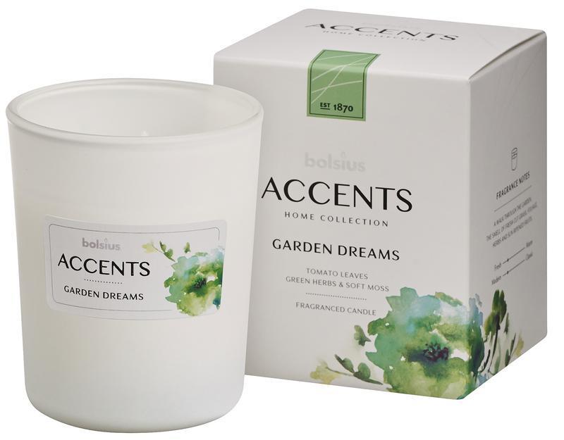 Accents geurkaars garden dreams