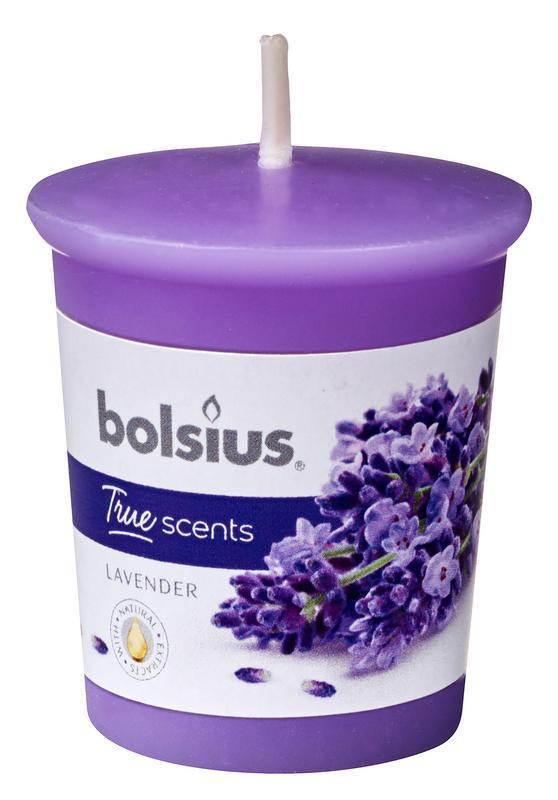 Votive 53/45 rond true scents lavender