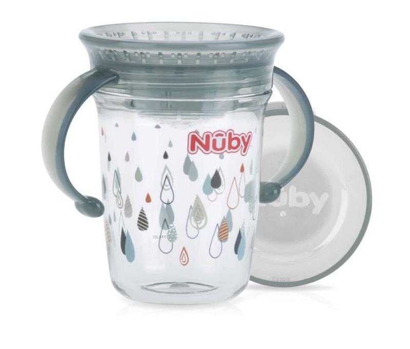 Wonder cup 240 ml grijs 6 maanden+
