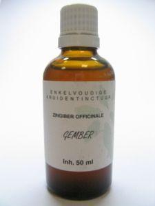 Zingiber officinalis rhiz / gember tinctuur bio