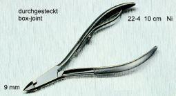 Vellentang 10 cm nikkel mat 22-4