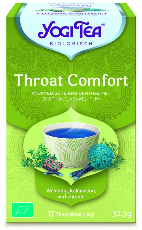 Throat comfort