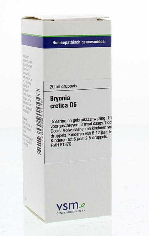 Bryonia cretica D6
