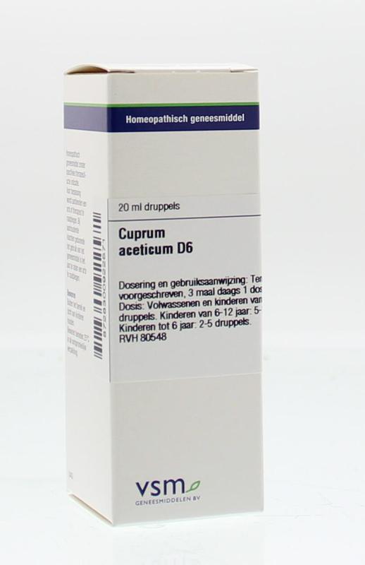 Cuprum aceticum D6