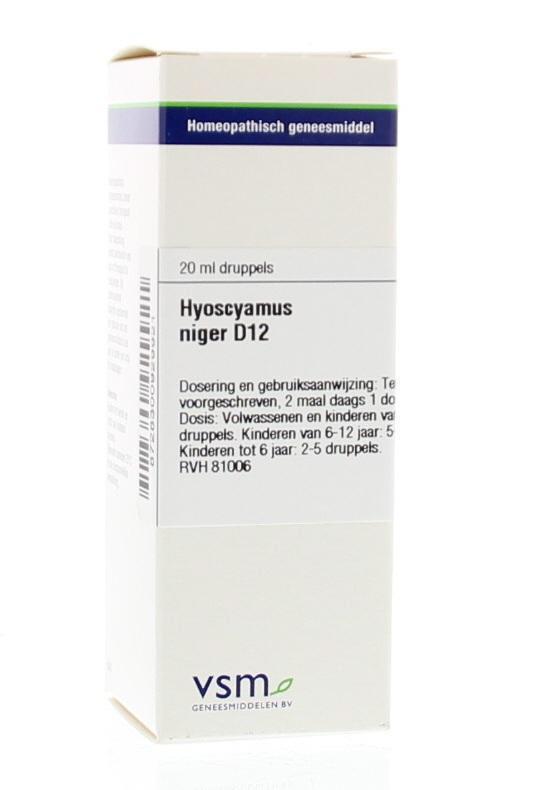 Hyoscyamus niger D12