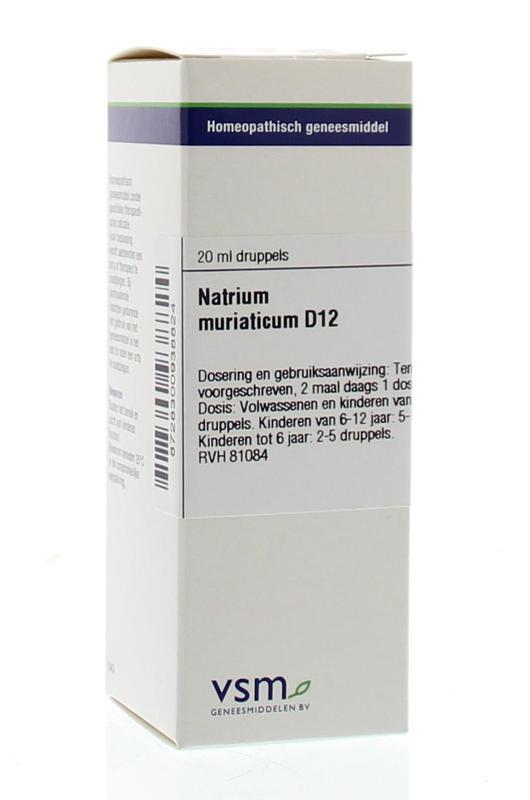 Natrium muriaticum D12