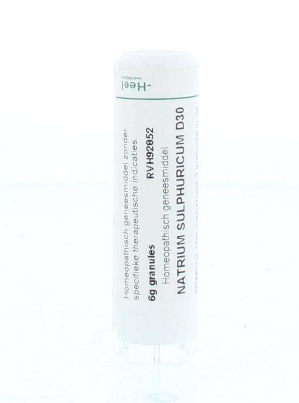Natrium sulphuricum D30