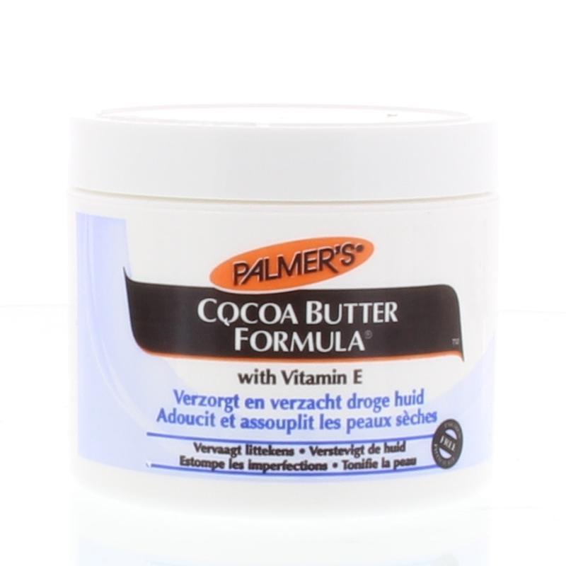 Cocoa butter formula pot