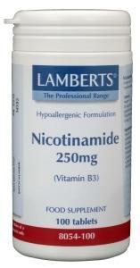 Vitamine B3 250 mg (nicotinamide)