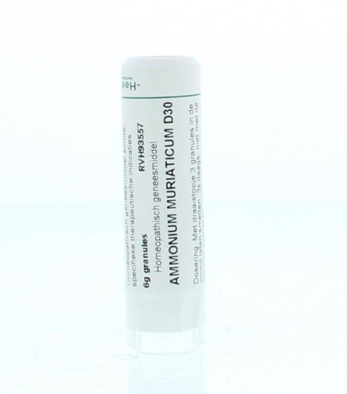 Ammonium muriaticum D30