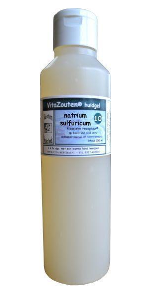 Natrium sulfuricum huidgel Nr. 10