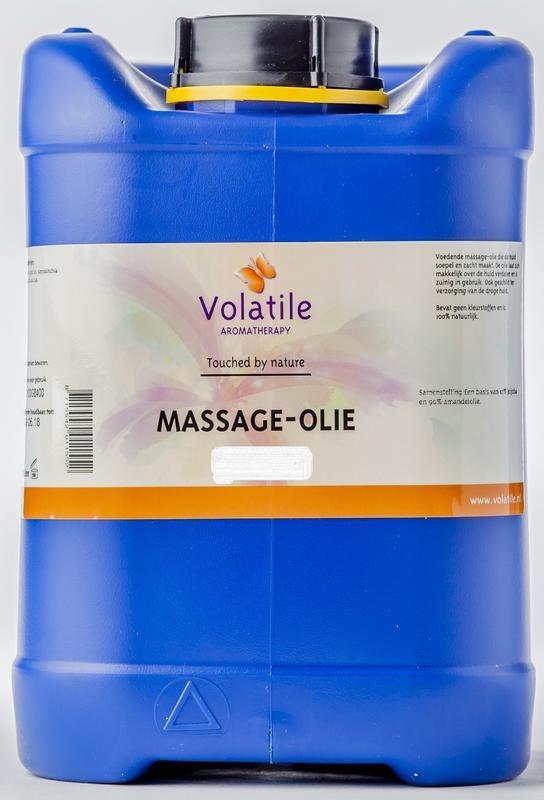 Massage-olie bij stress