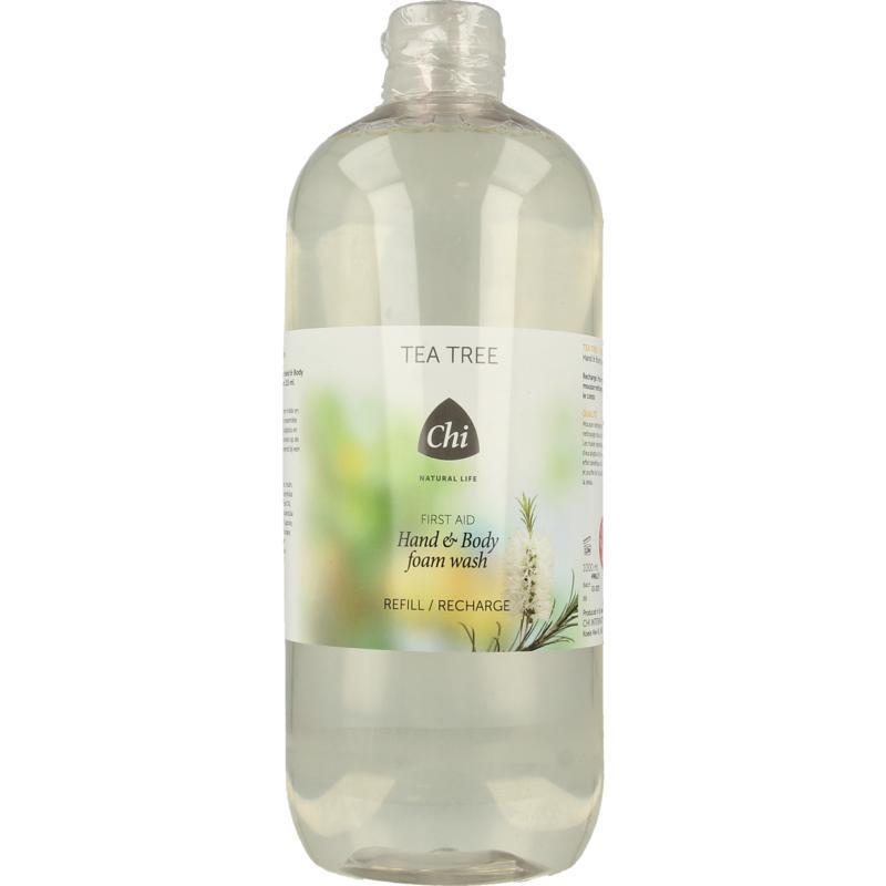 Tea tree hand & body foam wash navulling