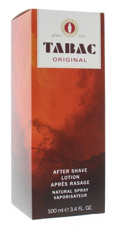 Original aftershave lotion natural spray