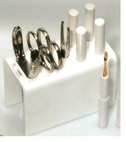 Manicure stand wit nikkel HS+NT+NS