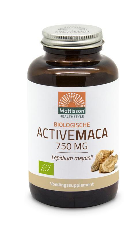 Biologische Active maca 750 mg