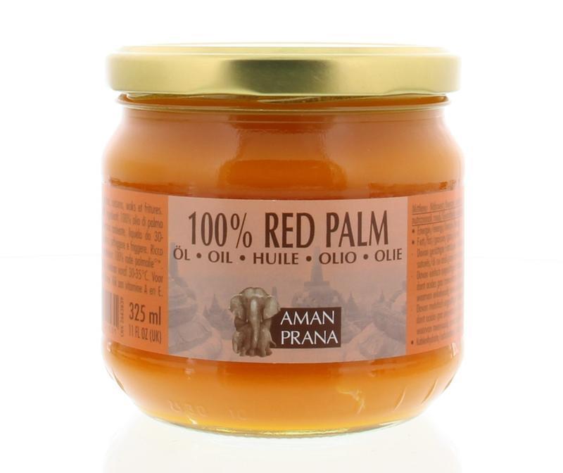 Rode palm olie bio