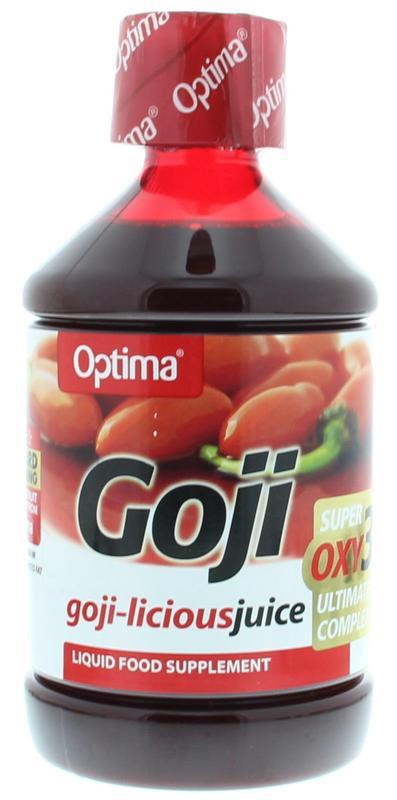Goji antioxidant vruchtensap