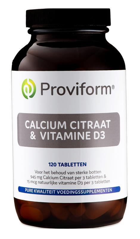 Calcium citraat & D3