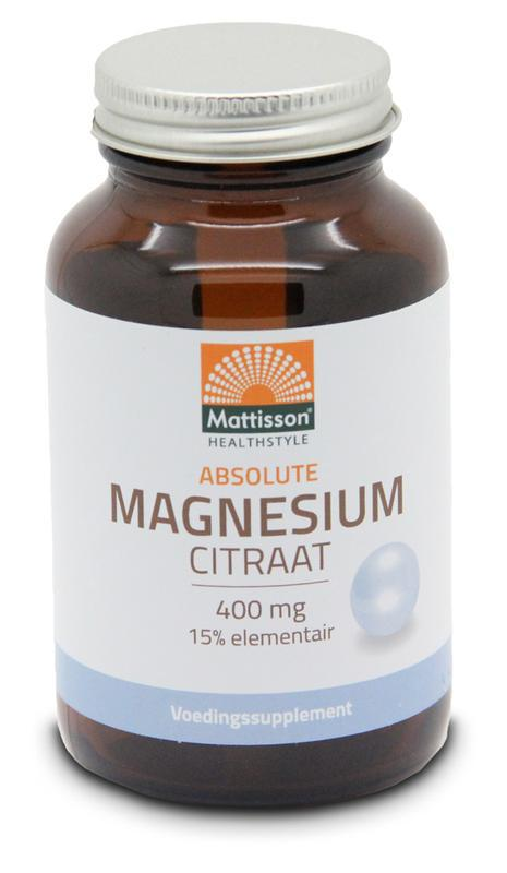 Absolute magnesium citraat 400 mg