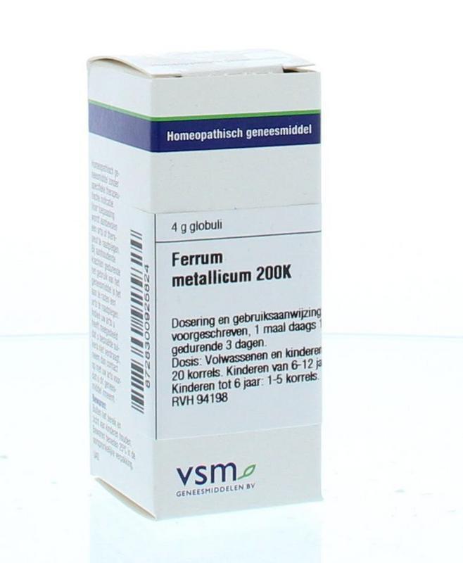 Ferrum metallicum 200K