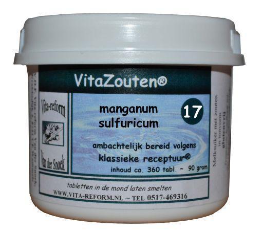 Manganum sulfuricum VitaZout Nr. 17