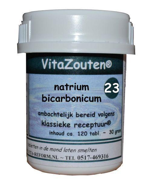 Natrium bicarbonicum VitaZout Nr. 23