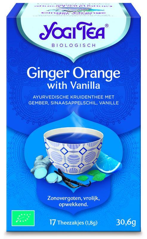 Ginger orange vanilla