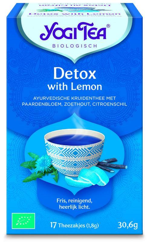 Detox with lemon