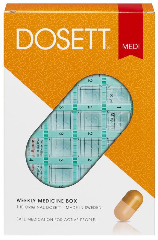 Dosett doseerbox medicator