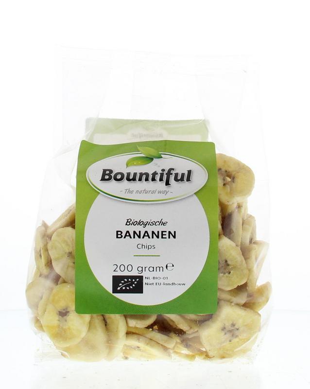 Bananen chips bio