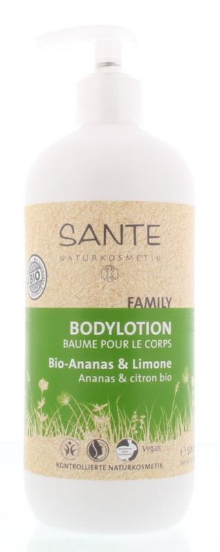 Family bodylotion ananas / citroen