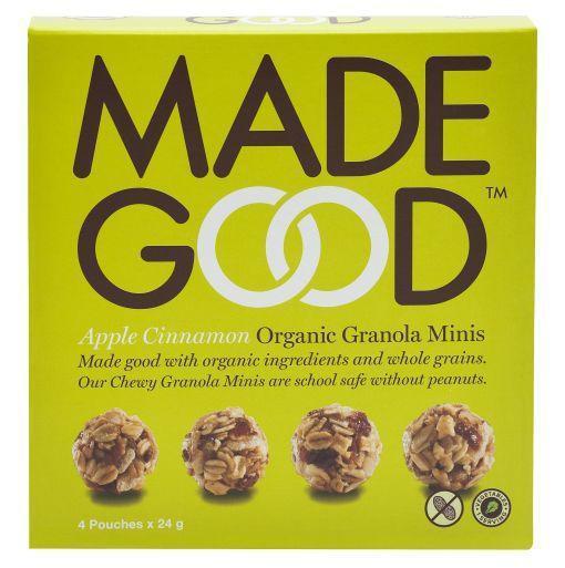 Granola minis apple cinnamon 24 gram bio