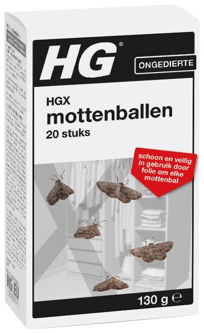 X Mottenballen
