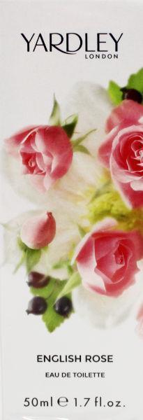 English rose eau de toilette