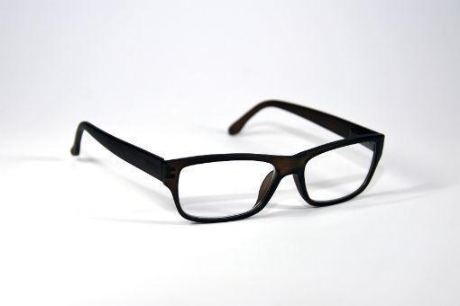 Leesbril bruin mat +2.50