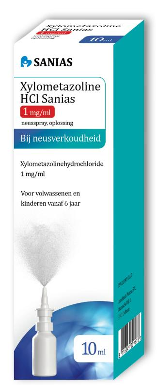 Xylometazoline HCI 1 mg spray